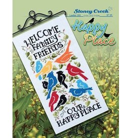Stoney Creek Our Happy Place Counted Cross Stitch Pattern
