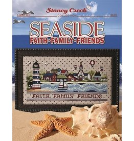Stoney Creek Seaside Faith Family Counted Cross Stitch Pattern