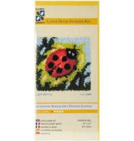 Euro Craft Lady Beetle Latch Hook Starter Kit