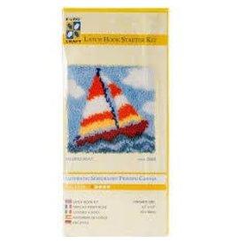 Euro Craft Sailing Boat Latch Hook Starter Kit