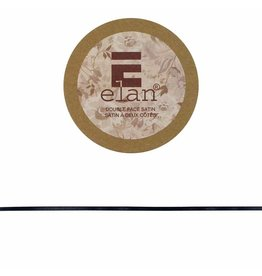 ELAN ELAN Double Face Satin Ribbon 3mm x 5m - Black