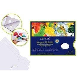 "Color Factory: Paper Palette 9""x12"" 40 Sheets w/Thumbhole 58gsm"