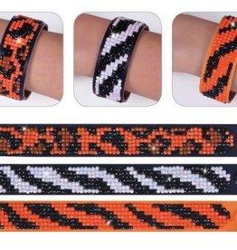 "Diamond Dotz Diamond Bracelets Facet Art Kit 1""X9"" Assorted Animal Prints 3/Pkg"