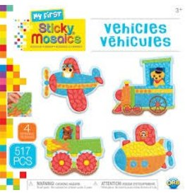 My First Sticky Mosaic -Vehicles