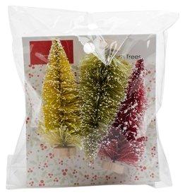 Merry & Bright Bottle Brush Trees