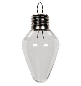 Shatterproof Ornament- Light Bulb, 100mm