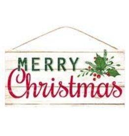 "12.5""Lx6""W Merry Christmas"
