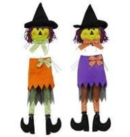 "2 Asst 2 Pc 32""H Witch Decor Kit"