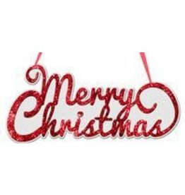 "14.5""L ""Merry Christmas"" (Script) Sign"
