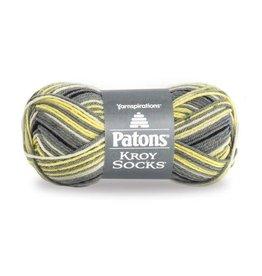 Patons Kroy Sock Spring Leaf Stripes