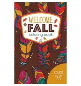 Leisure Arts Welcome Fall Coloring Book