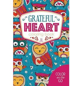 Leisure Arts Grateful Heart Coloring Book