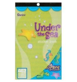 "Sticker Book 9.5""X6"" Under The Sea 462/Pkg"