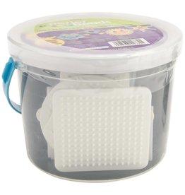 Perler Fused Bead Bucket Kit Glow-In-The-Dark