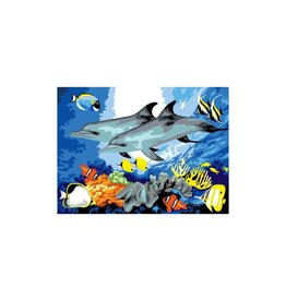 R&L Painting by Numbers - Dolphins