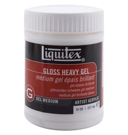 Gesso Liquitex Gloss Heavy Gel Medium 8oz