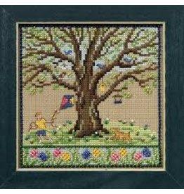 MillHill Beads Spring Oak - Cross Stitch Bead Kit
