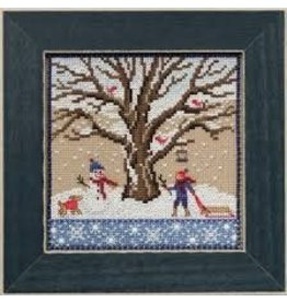 MillHill Beads Winter Oak - Cross Stitch Bead Kit