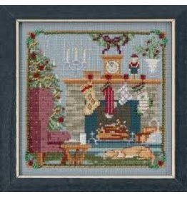 MillHill Beads The Stockings Were Hung - Cross Stitch Bead Kit