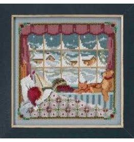 MillHill Beads The Children Were Nestled - Cross Stitch Bead Kit