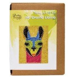 Pretty Twisted String Art DIY Kit No Drama Llama