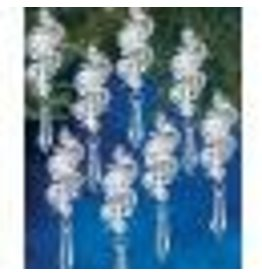 Holiday Beaded Ornament Kit Irridescent Bubbles Makes 8