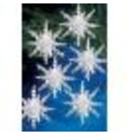 """Holiday Beaded Ornament Kit Snow Clusters 3.5"""" Makes 12"""