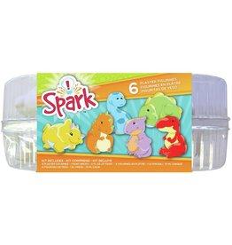 Spark Plaster Value Pack Dinosaur
