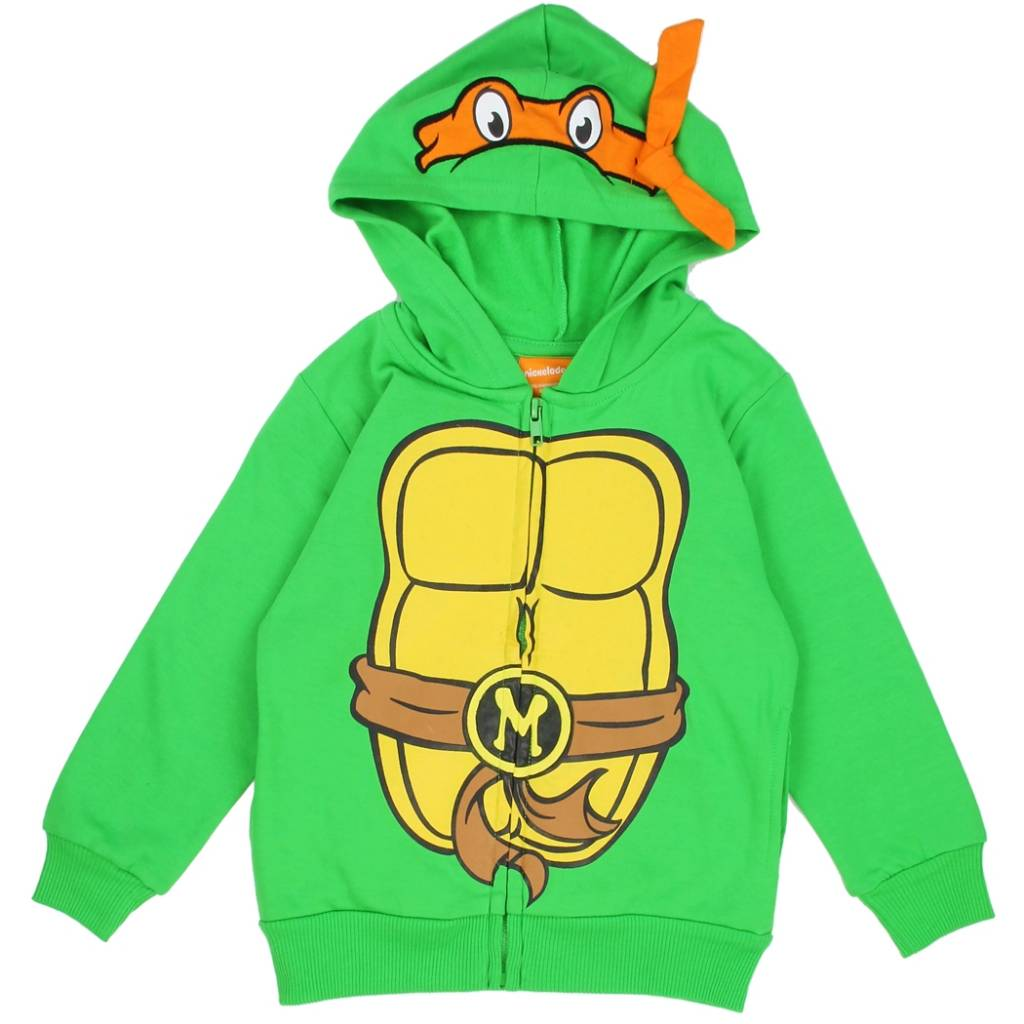 Teenage Mutant Ninja Turtles Costume Zip Hoodie Boys Toddler - MyGa KIDS Co.  sc 1 st  MyGa KIDS Co. & Teenage Mutant Ninja Turtles Costume Zip Hoodie Boys Toddler - MyGa ...