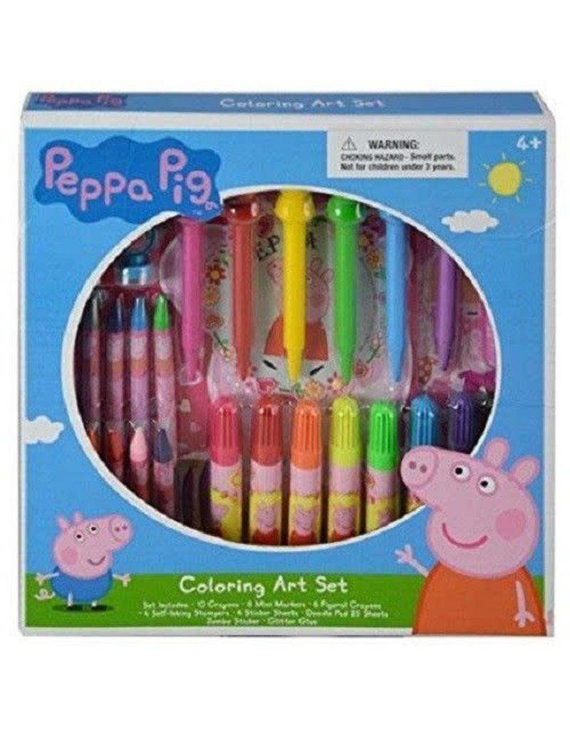Peppa Pig Coloring Art Set - MyGa KIDS Co.