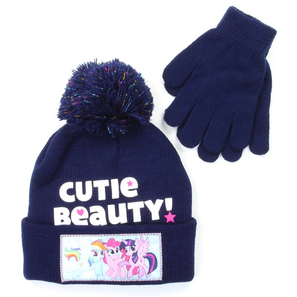 My Little Pony Winter Hat   Glove Set for Girls - MyGa KIDS Co. fc511676239