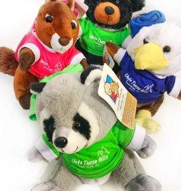 Children's Plush Animal & T-Shirt Combo