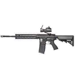 G&G Black G&G Combat Machine Raider R8 /w Red Dot Scope