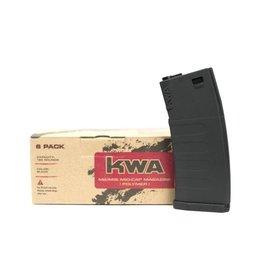 KWA KWA K120 M4/M16 Mid-Cap 6 Pack