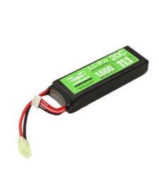 Valken 11.1V 1600 mAh LiPo Brick Battery Tamiya