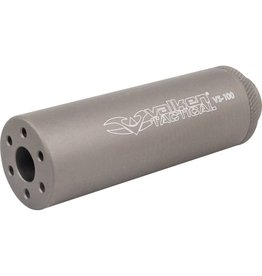 "Valken Valken 4"" Suppressor 14mm CCW TAN"