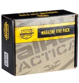 Valken Valken RMAG M4/M16 Midcap 5 Pack Tan