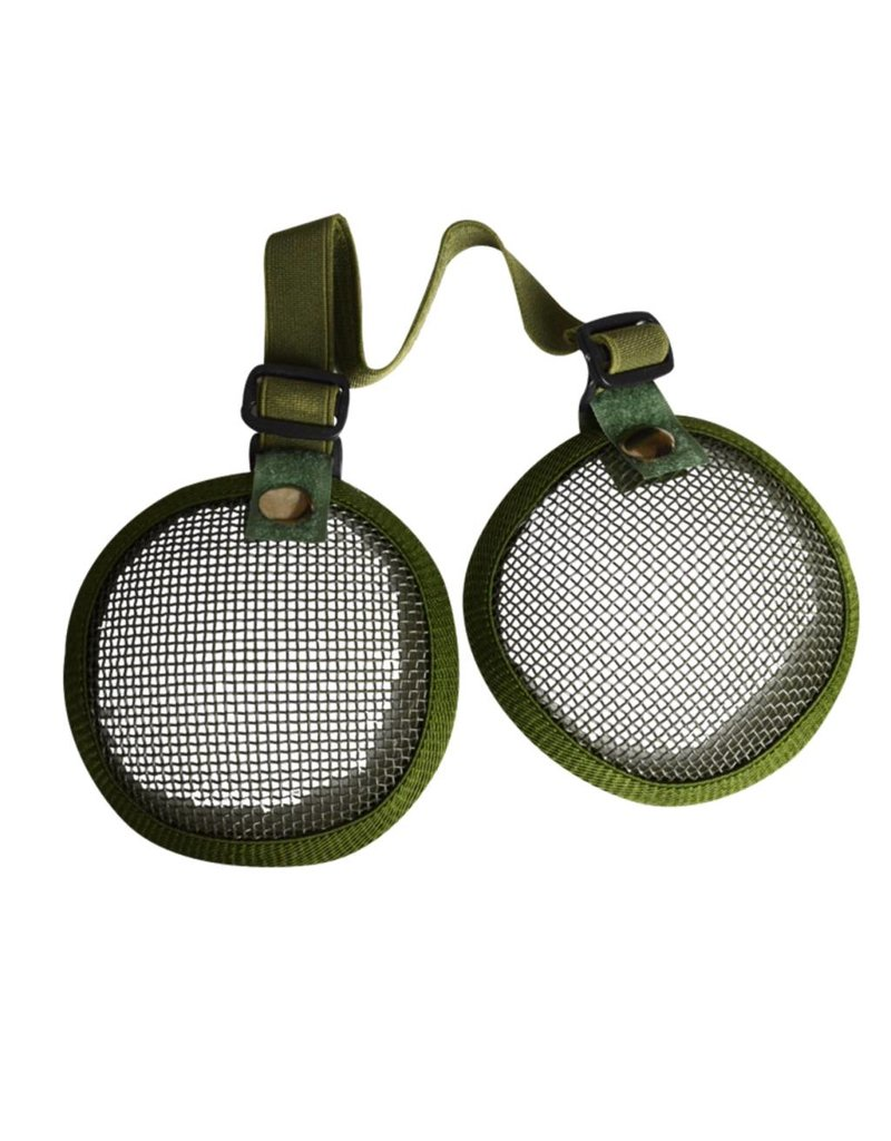 Valken Valken Tactical 3G Wire Mesh Ear Cover Black - Ballahack Outdoor