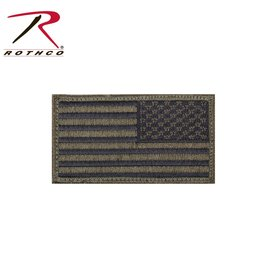 Rothco Reverse American Flag Patch W/ Hook Back
