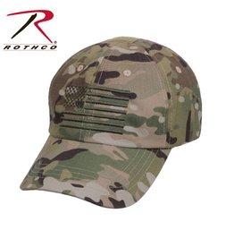 Rothco Rothco Operator Cap Multicam w/Flag