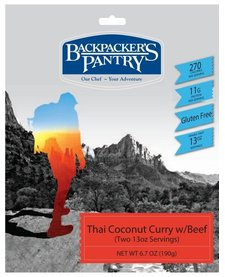 Backpacker's Pantry Chiang Mai Coconut Curry w/ Beef