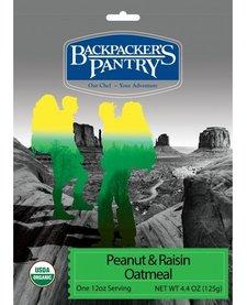 Backpacker's Pantry Organic Peanut Raisin Oatmeal