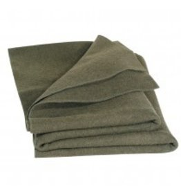 Major Surplus Mil-Spec Army Style Wool Blanket OD 60x80