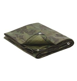Major Surplus Mil-Spec Woodland Camo Tarp