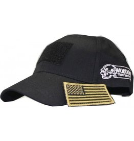 Voodoo Tactical Voodoo Cap W/ Removable Flag Patch (Black)
