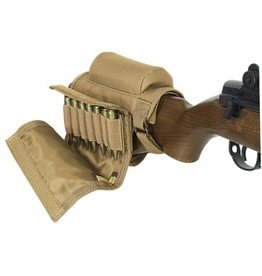 Voodoo Tactical Voodoo Tactical Buttstock Cheek Piece w/ Ammo Carrier
