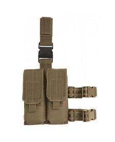Voodoo Tactical Drop Leg Platform w/ M4 Magazine Pouches