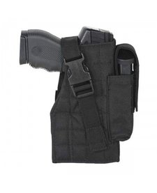 Voodoo Tactical Tactical Holster w/ Attached Mag Pouch