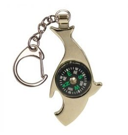 UST UST Keychain Compass Shark