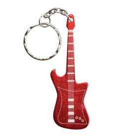 UST UST Keychain Guitar Bottle Opener Red